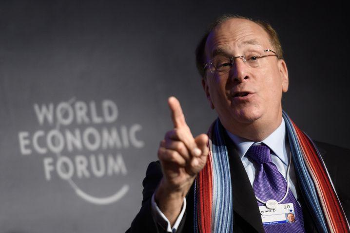"""""""Unternehmen mit langfristigem Ansatz werden die Krise besser meistern"""", ist der Blackrock-Chef überzeugt"""