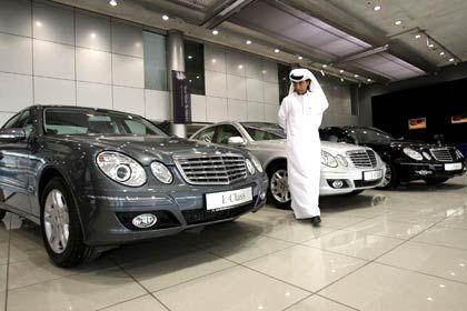 Auf dem Vormarsch: Investoren aus Arabien nehmen deutsche Firmen wie Daimler ins Visier