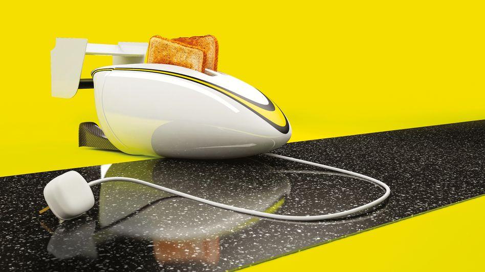 """""""Braun Toaster"""", Kunstwerk von Chris Labrooy"""
