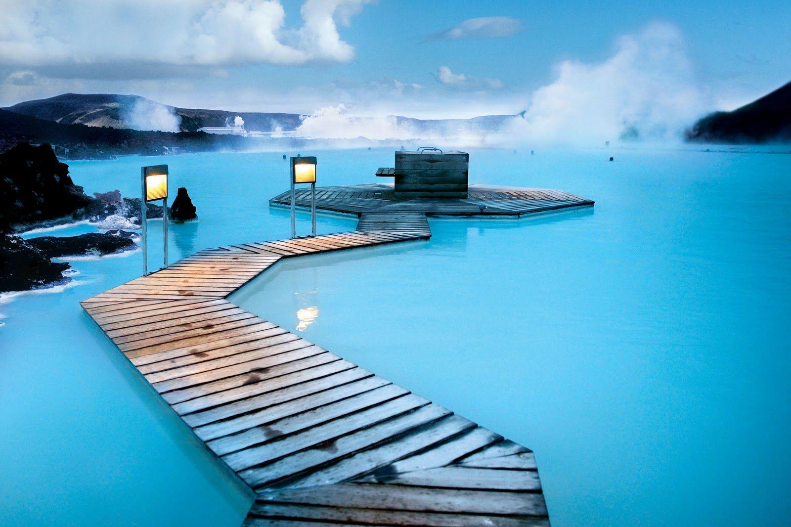 EINMALIGE VERWENDUNG Blaue Lagune / Reykjavik