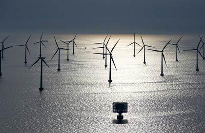 2500 Windräder beantragt: Der freie Blick zum Horizont wird auch auf See künftig hier und da durch Windräder verstellt