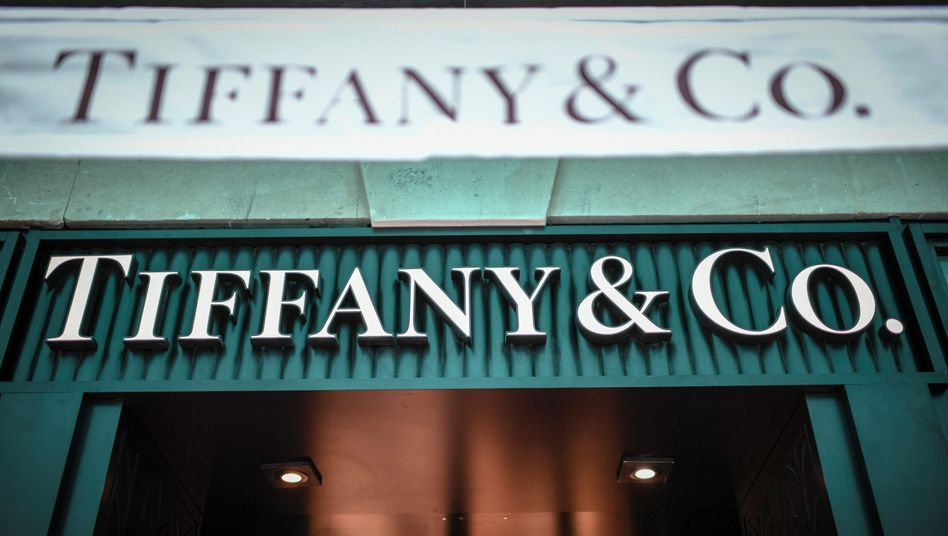 Tiffany-Shop in Paris (Archivbild): 80 Prozent mehr Onlinehandel