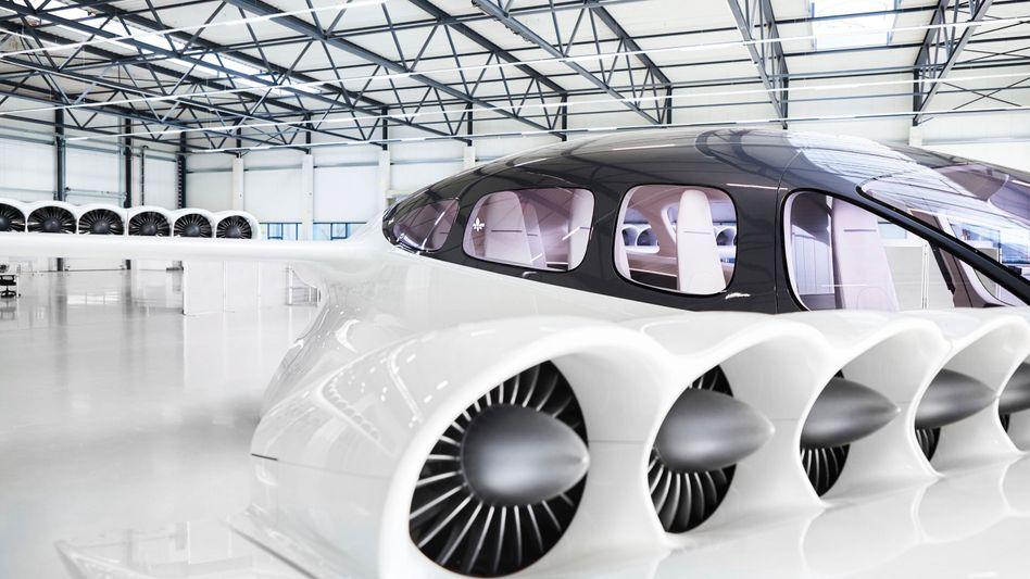 Das Produkt: Lilium arbeitet an einem neuen Siebensitzer, nachdem die Testflüge mit einem Fünfsitzer stattgefunden hatten
