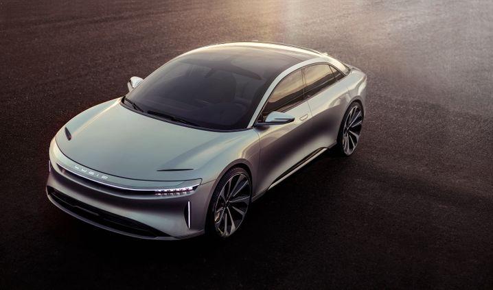"""Lucid Motors """"Air"""": Will mit mächtiger Beschleunigung und luxuriösem Inneren punkten - zum Preis ab 60.000 Dollar"""