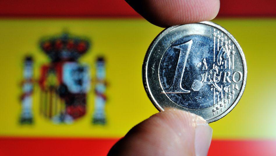 Teure Refinanzierung: Spaniens Anleihen rentieren, als gäbe es keinen Rettungsplan