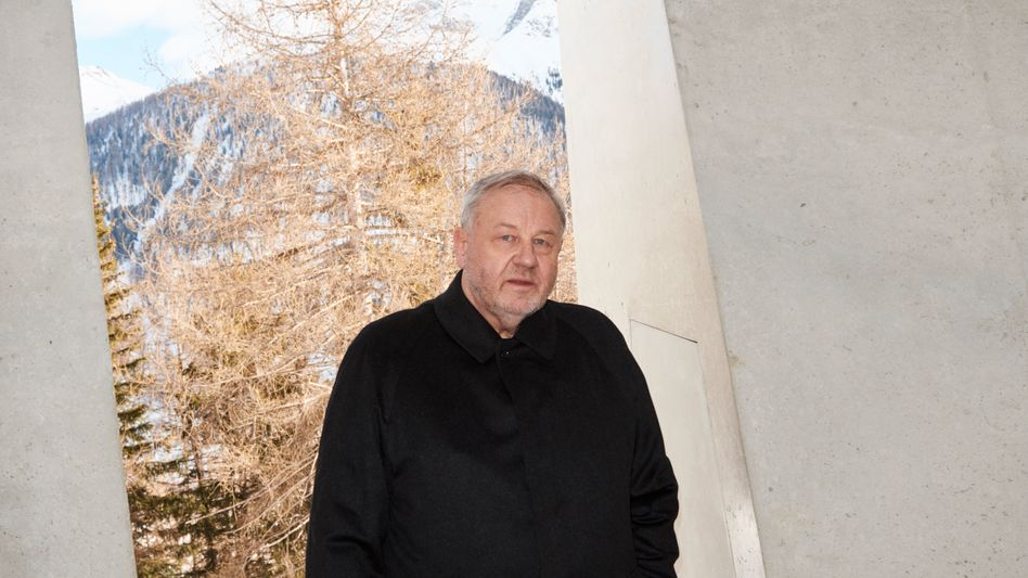 Nach der Party: Früher ließen sich Reiche gern in gediegener Atmosphäre die neuesten Ideen von HannoBerger präsentieren, heute verschanzt er sich in der Schweiz.