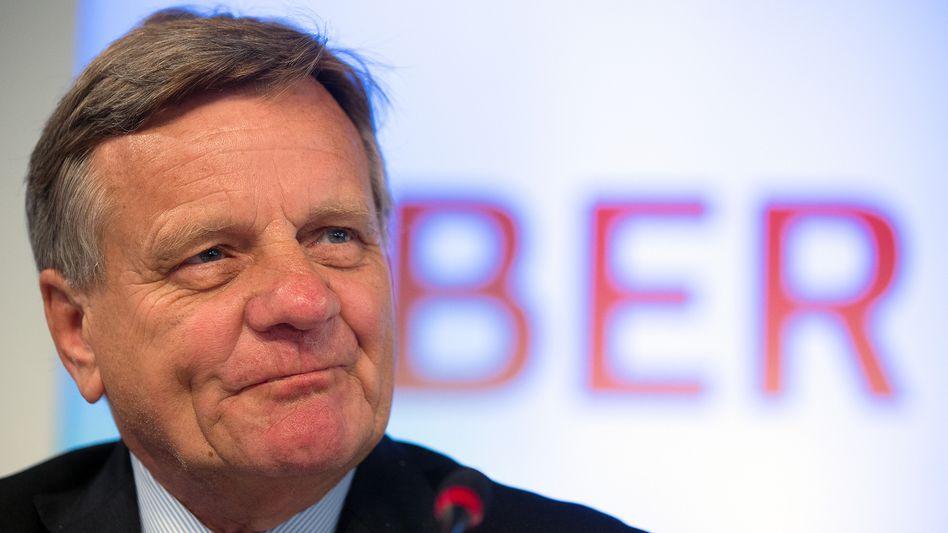 Problem-BER: Hartmut Mehdorn, früherer Chef von Deutscher Bahn und Air Berlin, verantwortet nun als Geschäftsführer den neuen Berliner Flughafen