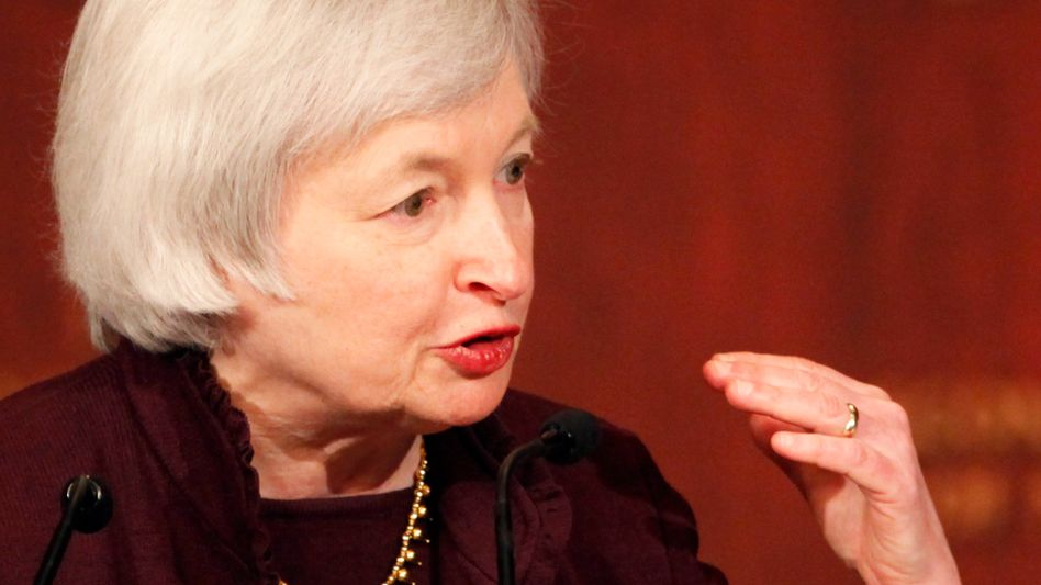 Fed-Chefin Janet Yellen: Die Zinserhöhung dürfte für die deutschen Konzerne auch ihr Gutes haben
