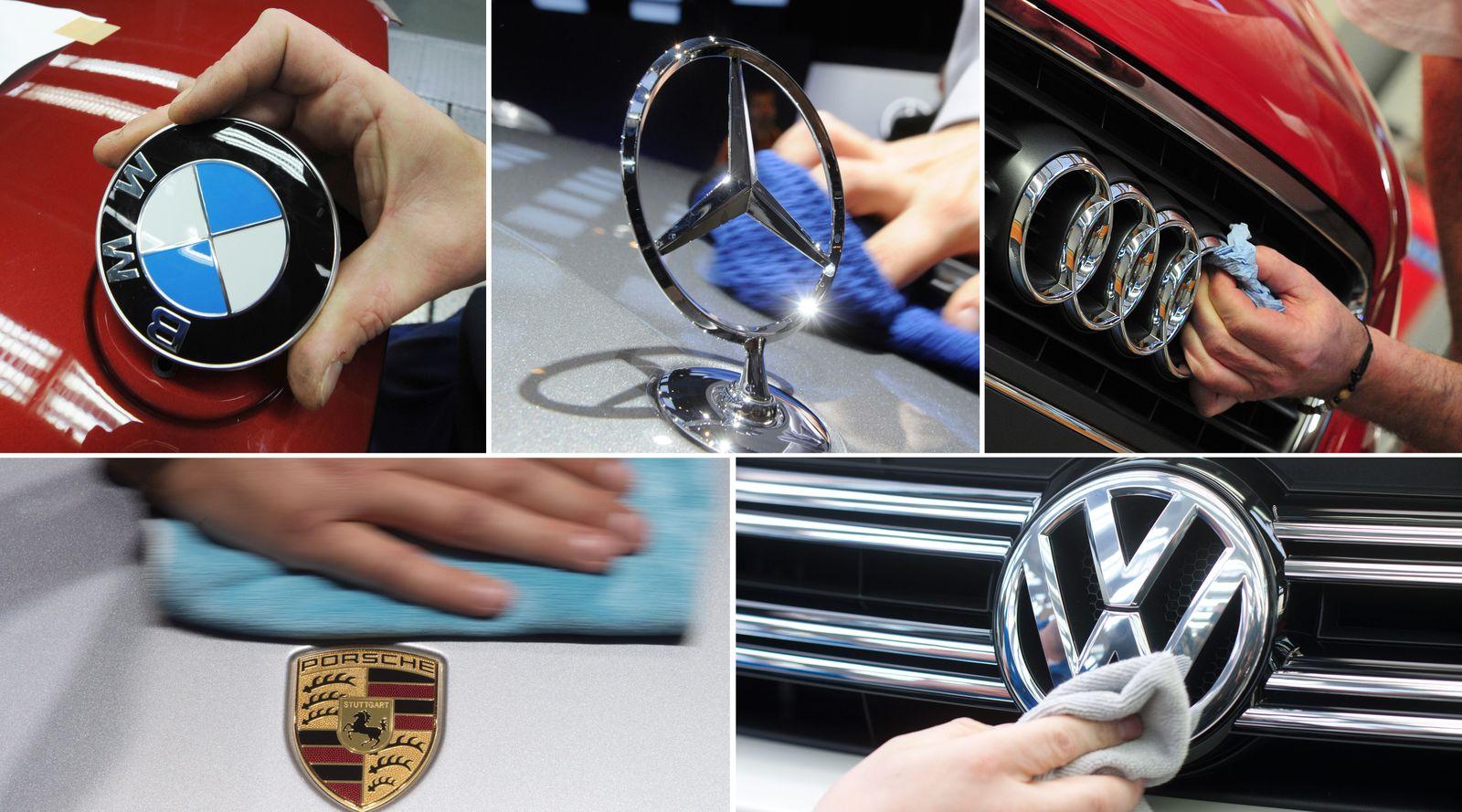 Automarken / Auto-Kartell / Marken-Logos