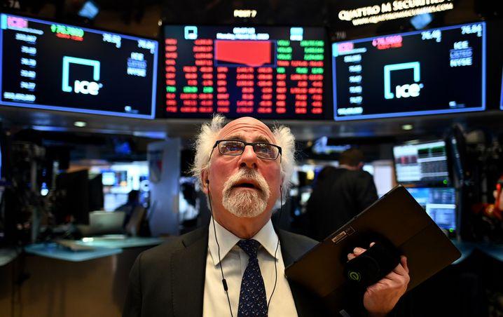 Direkt nach dem Handelsstart folgte der Stopp: Die Wall Street heute.