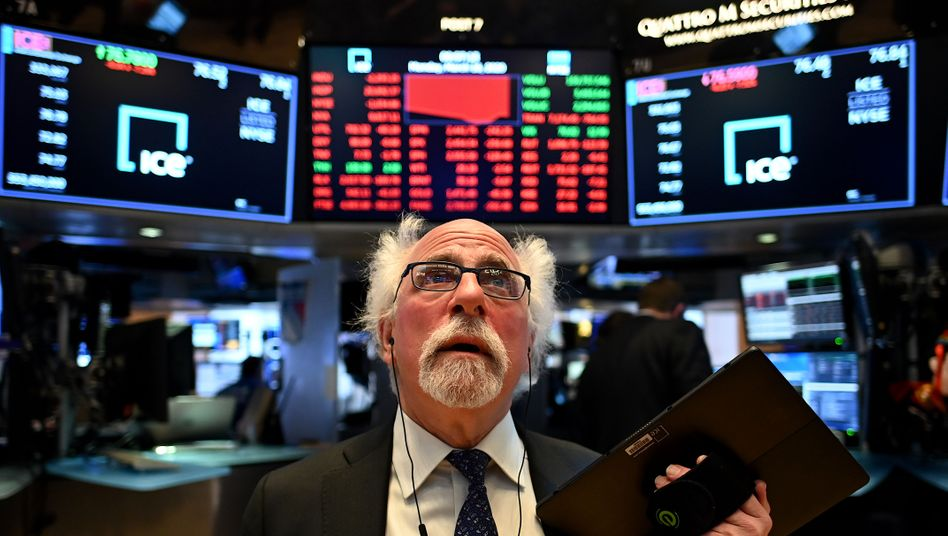 Die Wirtschaft wird heruntergefahren - nur die Börse zeigt Hyperaktivität