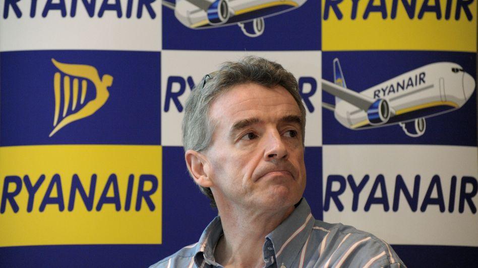"""""""Lächerliche Forderungen"""": Ryanair-Chef O'Leary will Pilotengewerkschaften gegenüber nicht nachgeben"""