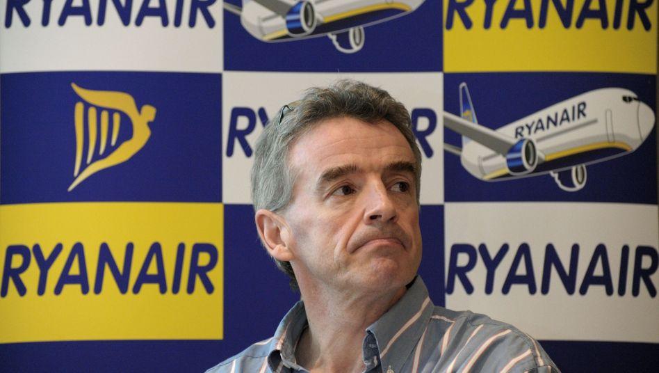 """Abgekartetes Spiel"": Ryanair-Chef Michael O'Leary"