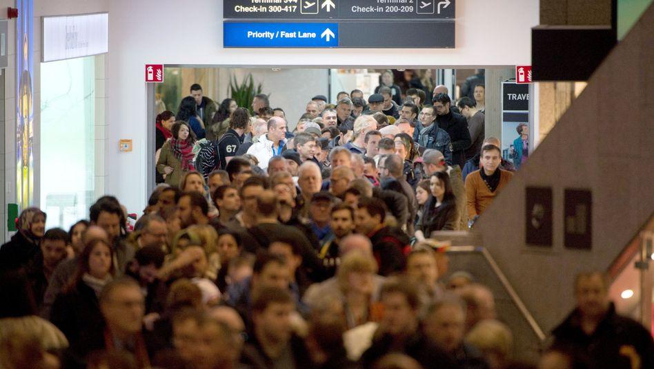 Stuttgarter Flughafen: Streik an drei Airports