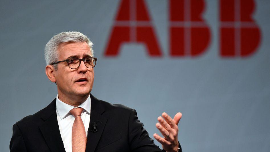 ABB-Chef Ulrich Spiesshofer will sich eine Auszeit nehmen