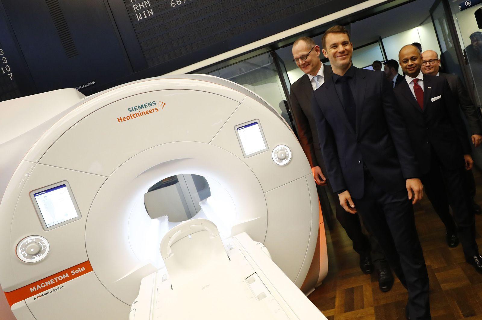 Manuel Neuer Siemens Börse