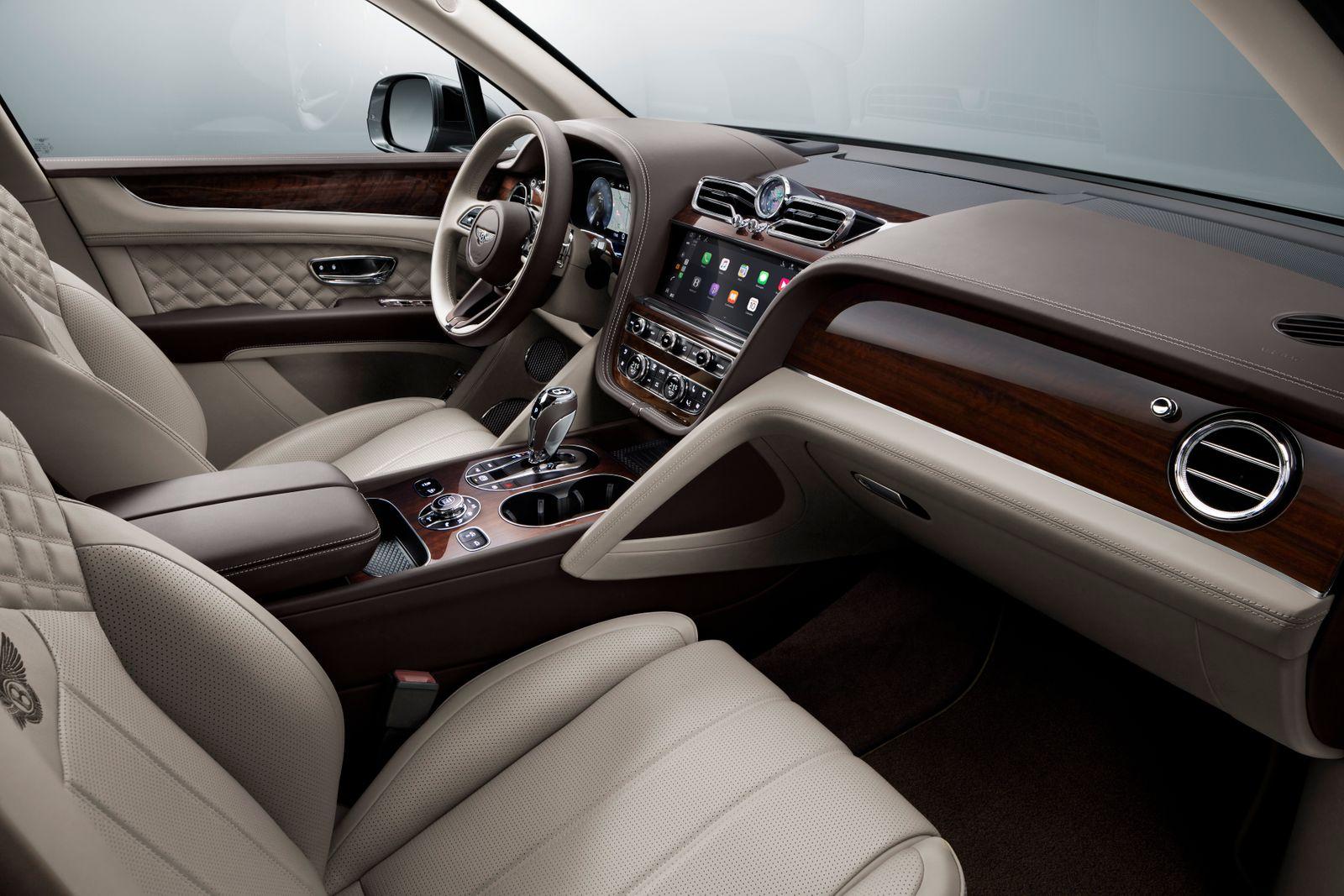 Bentley Bentayga / Cockpit