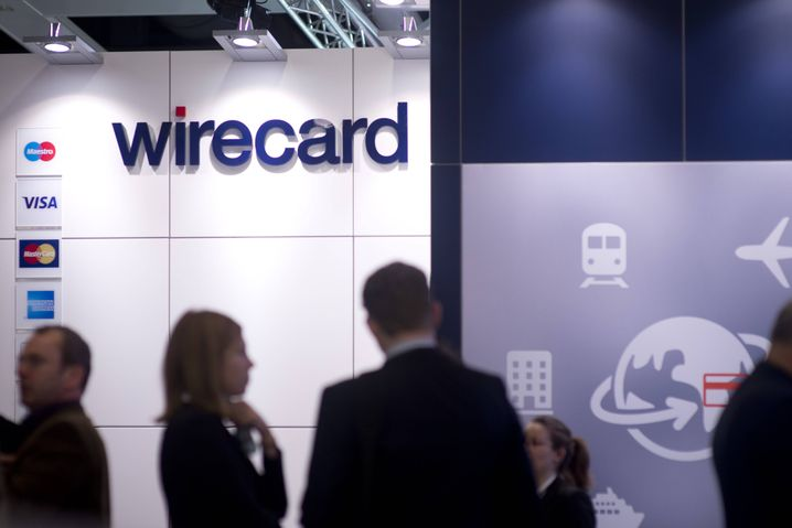 Wirecard-Stand auf einer Messe in Berlin (Archivaufnahme)