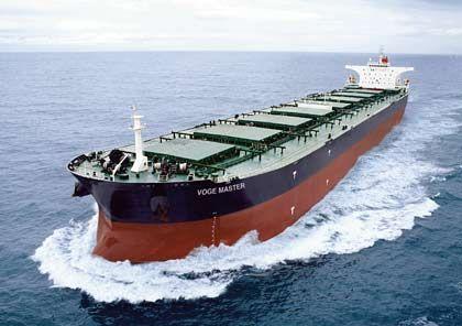Guter Frühindikator: Die Charterraten von Massengutfrachtern sind schon um mehr als 90 Prozent eingebrochen