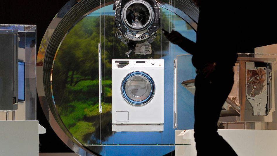 Miele-Waschmaschine: Umsatz, der sich gewaschen hat