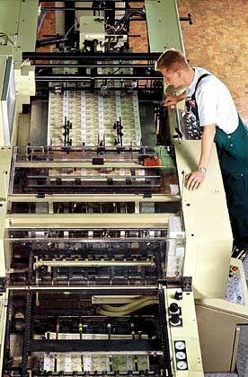 Sensible Dokumente: Die Bundesdruckerei steht zum Verkauf