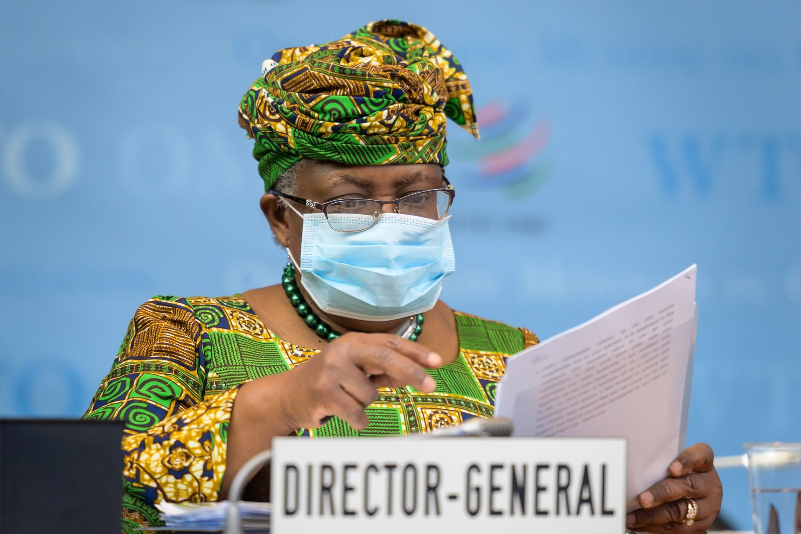 WTO New Director-General takes office