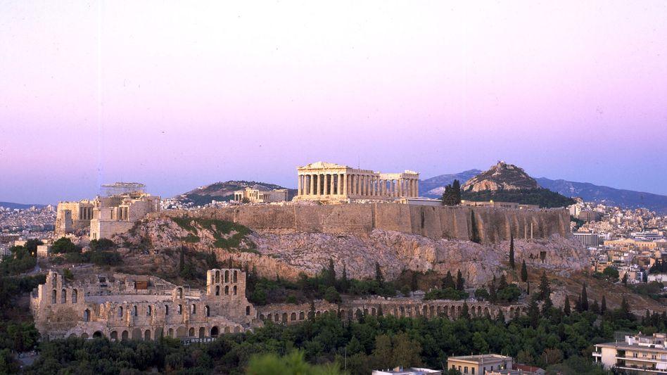 Blick auf die Akroplis: Aktuelle Buchungszahlen lassen 2012 weniger Besucher erwarten