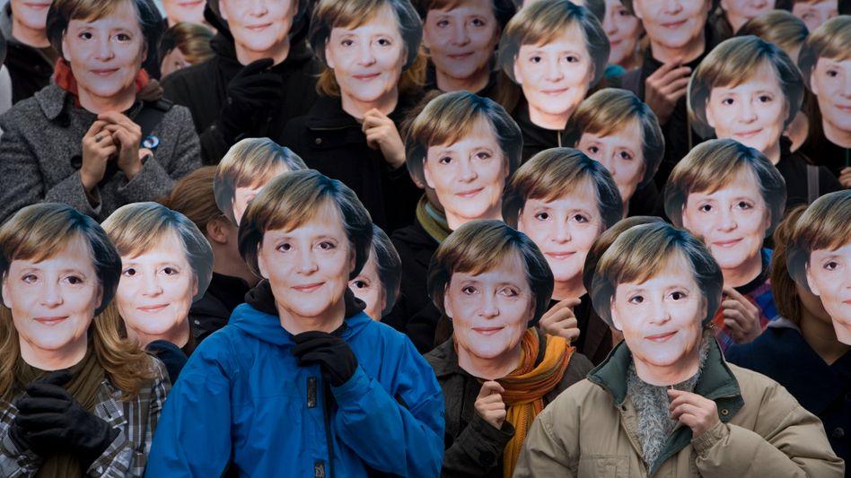 Angela Merkel hat ihre Rolle als Klimakanzlerin auf dem jüngsten G7-Gipfel wieder mit Leben gefüllt. Aber dabei hat sie einen politischen Fehler gemacht: Sie hat ein überprüfbares Emissions-Ziel möglicherweise noch für die eigene Amtszeit gesetzt. (AP Photo/Maya Hitij)