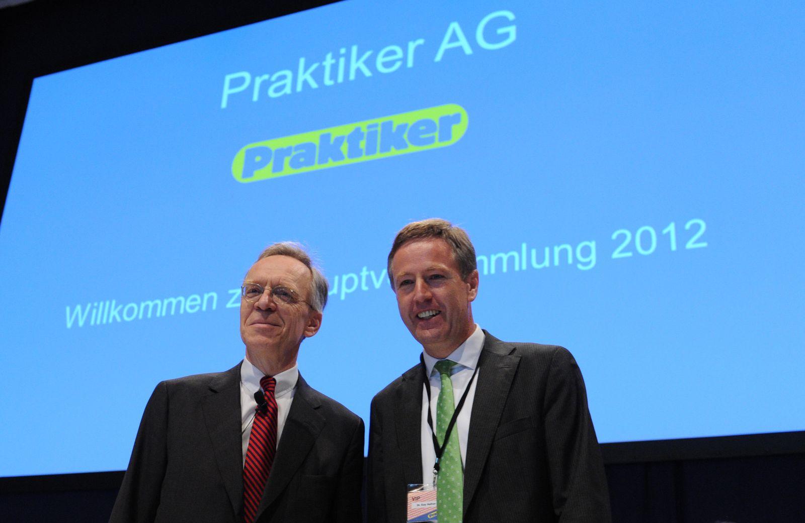 Hauptversammlung von Praktiker / Hafner / Schenck