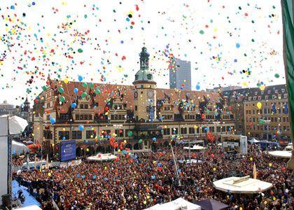 Mit Emotionen gepunktet: Leipzig genoss die Rückendeckung zahlreicher Politiker