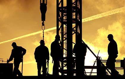 Dunkle Aussichten: Auf die Unternehmen des Baugewerbes kommen schwierige Zeiten zu