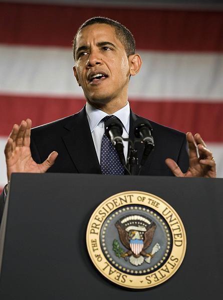 Rekorddefizit erwirtschaftet: US-Präsident Obama