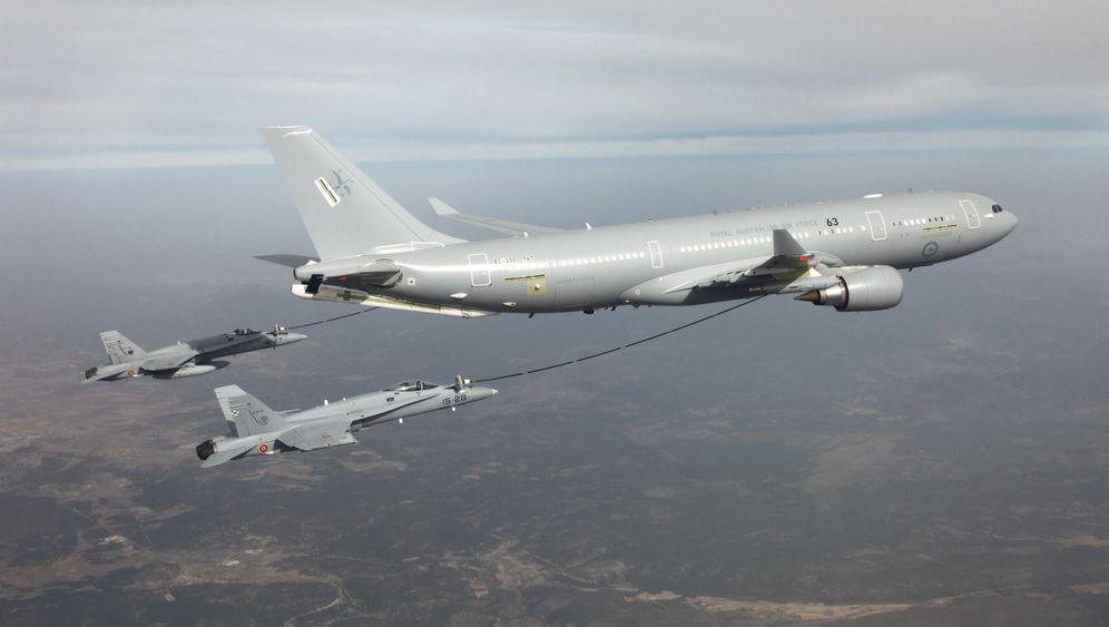 Airbus contra Boeing: Die umkämpften Tankflieger im Vergleich