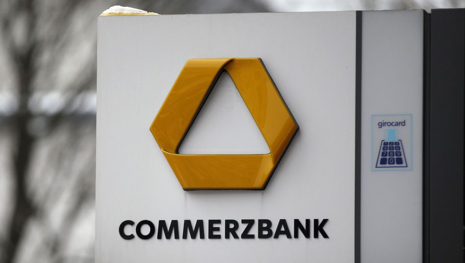 Die Aktien der Commerzbank sind zum Spielball von Spekulanten geworden.