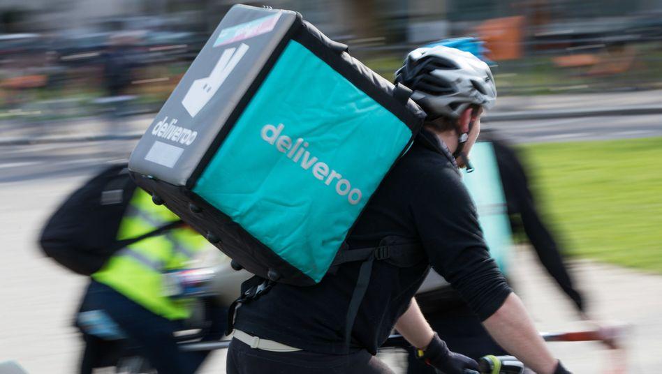 Deliveroo-Fahrer in Berlin (Archivaufnahme)