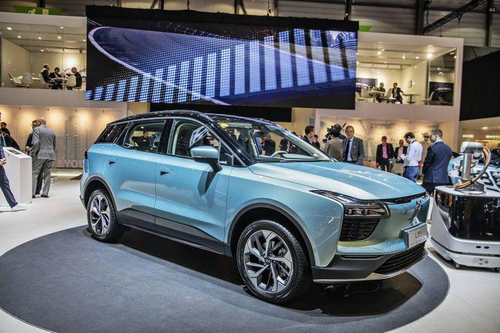 Konzipiert als Konkurrent für die E-Modelle von VW: Aiways U5.