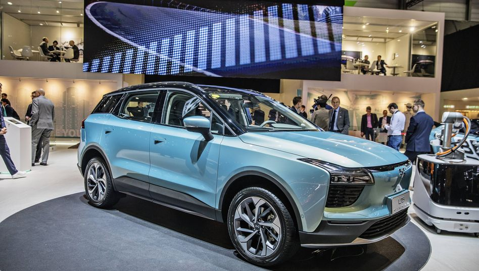 """Ein Elektroauto zum """"äußerst konkurrenzfähigen Preis"""" - das will Aiways mit seinem U5 in Europa liefern"""