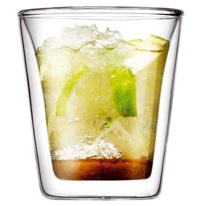 Temperaturkünstler: Canteen-Trinkglas von Bodum, Designpreis in Silber