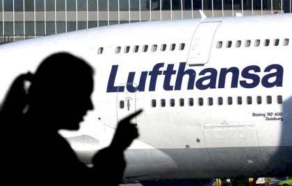 Lufthansa: Die Passagierzahlen stiegen im Juli