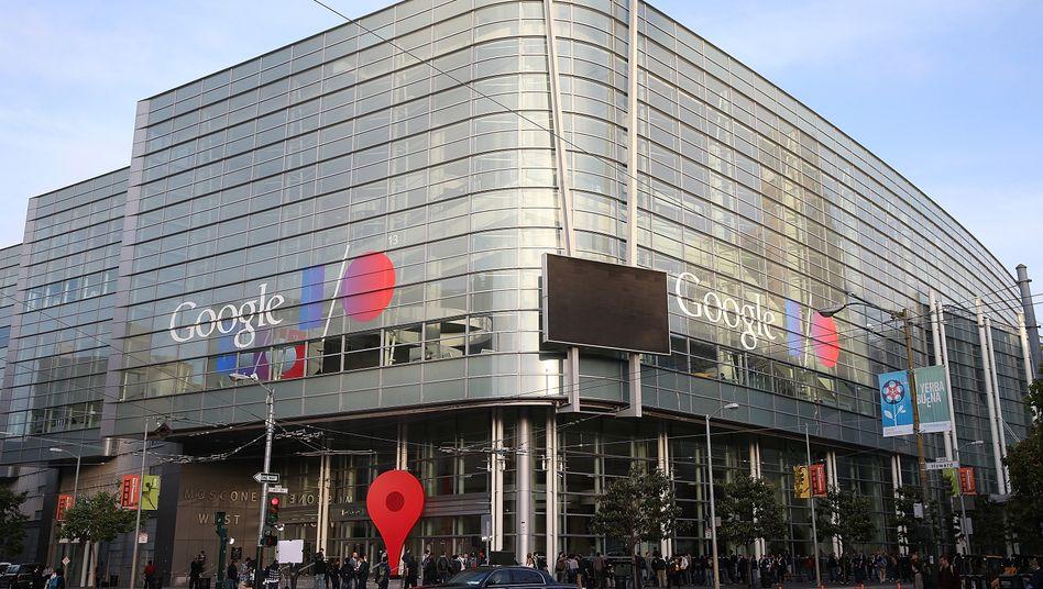 Google-Konferenz: Aktienkurs steigt auf Rekordniveau