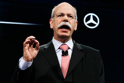 Dieter Zetsche: Seit 2006 an der Daimler-Spitze