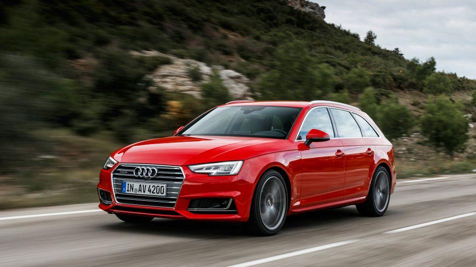 Audi A4: Drei Manipulationsprogramme will die VW-Tochter nicht offengelegt haben