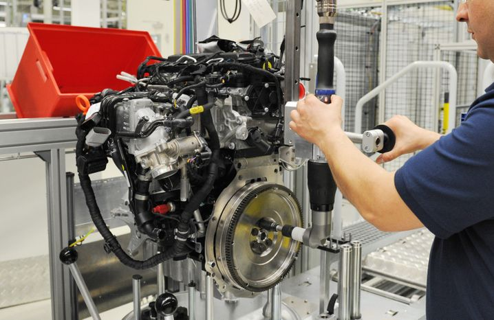 Eine Sonderschicht pro Woche abgesagt: Motoren-Produktion bei Volkswagen im Werk Salzgitter