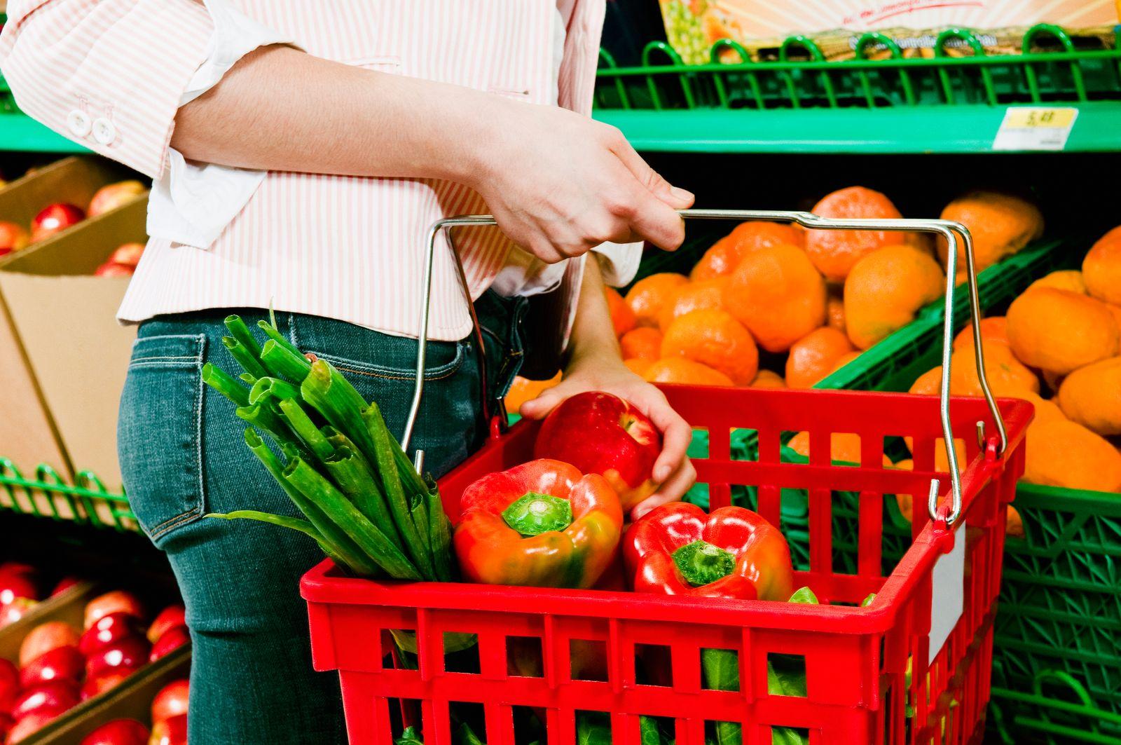 NICHT MEHR VERWENDEN! - Gemüse / Einkaufen / Supermarkt
