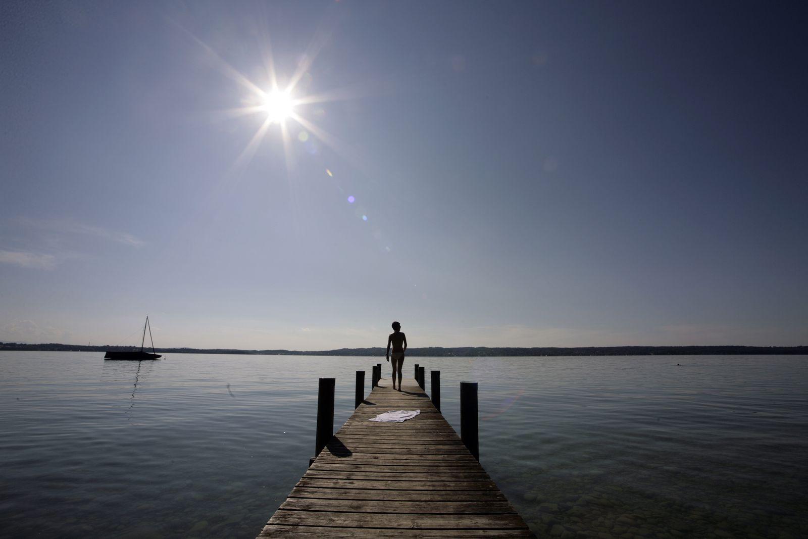 Sommer am Starnberger See / Bayern / Sonne / Baden