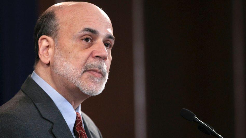 Fed-Präsident Ben Bernanke: Sein Spielraum wird geringer - und die Zahl der Kritiker wächst, nicht nur bei den Republikanern
