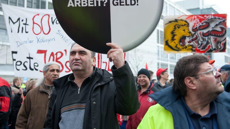 Leiharbeit und Werkverträge waren umstritten - und werden es auch nach jüngsten Gesetzen wohl bleiben