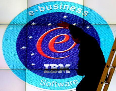Schon letztes Jahr auf der Cebit präsent: IBM