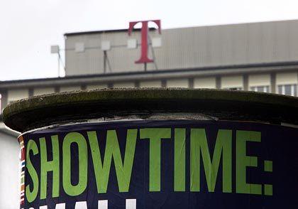 Showtime in Bonn: Bei seinem großen Auftritt zeigte sich Konzernchef Obermann zuversichtlich