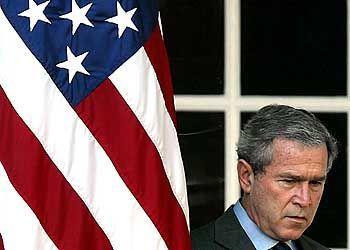 """Nationaler Notstand"": George W. Bush"